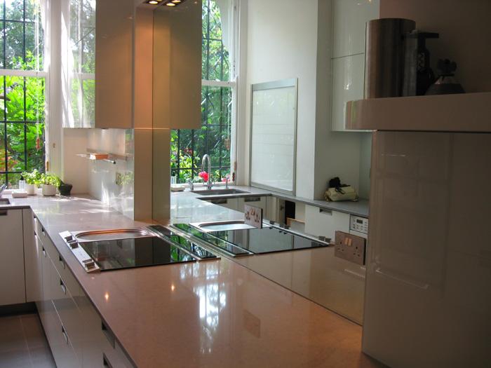 Kitchen Backsplash Uk kitchen glass splashbacks uk - chopra project sleek contemporary